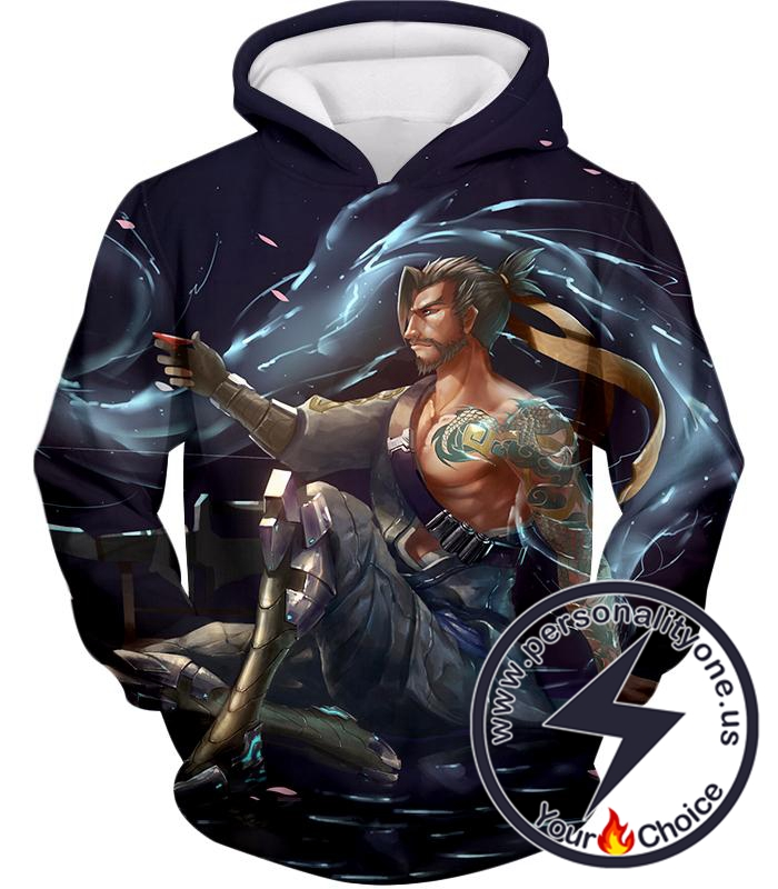 Overwatch Coolest Defense Agent Hanzo Hoodie