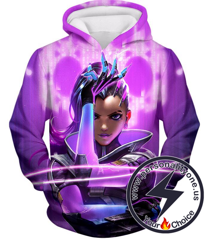 Overwatch Deadly Attacker Sombra Hoodie