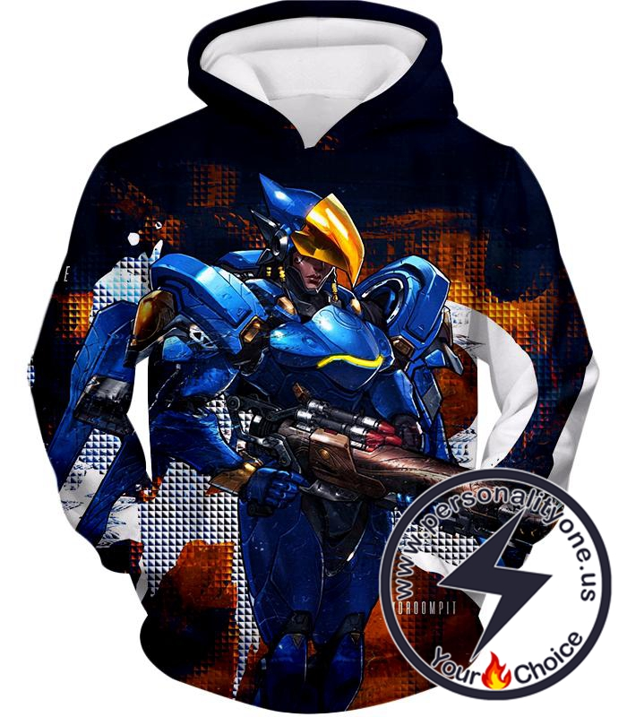 Overwatch Helix International Security Chief Pharah Hoodie