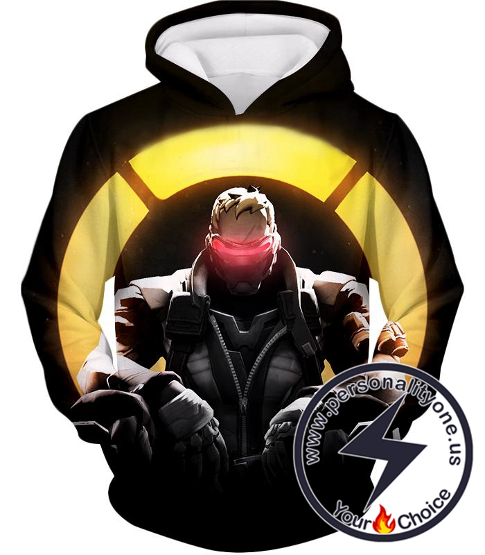 Overwatch Incredible Offense Hero Soldier: 76 Overwatch Promo Hoodie