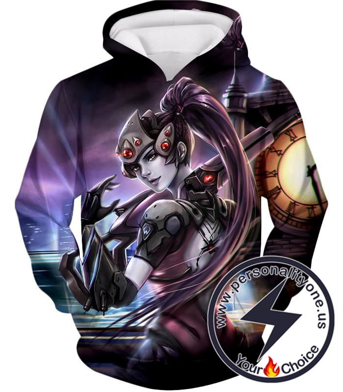 Overwatch Ruthless Talon Assassin Widowmaker Hoodie