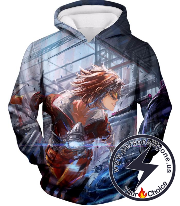 Overwatch Time Traveler Tracer Hoodie