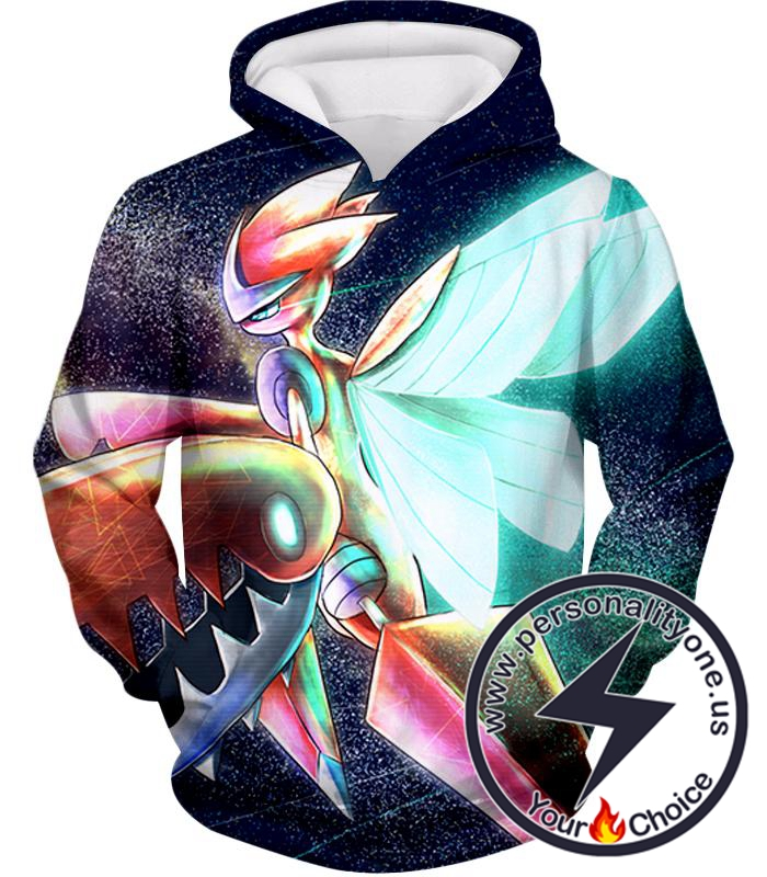 Pokemon Amazing Pokemon Evolution Mega Scizors Cool Black Hoodie