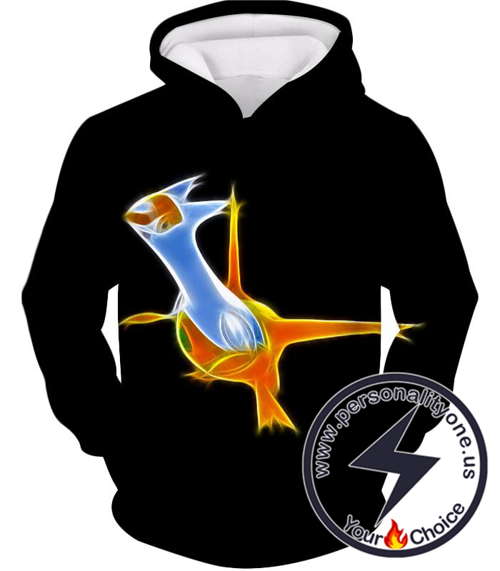 Pokemon Awesome Dragon Psychic Type Legendary Pokemon Latias Hoodie