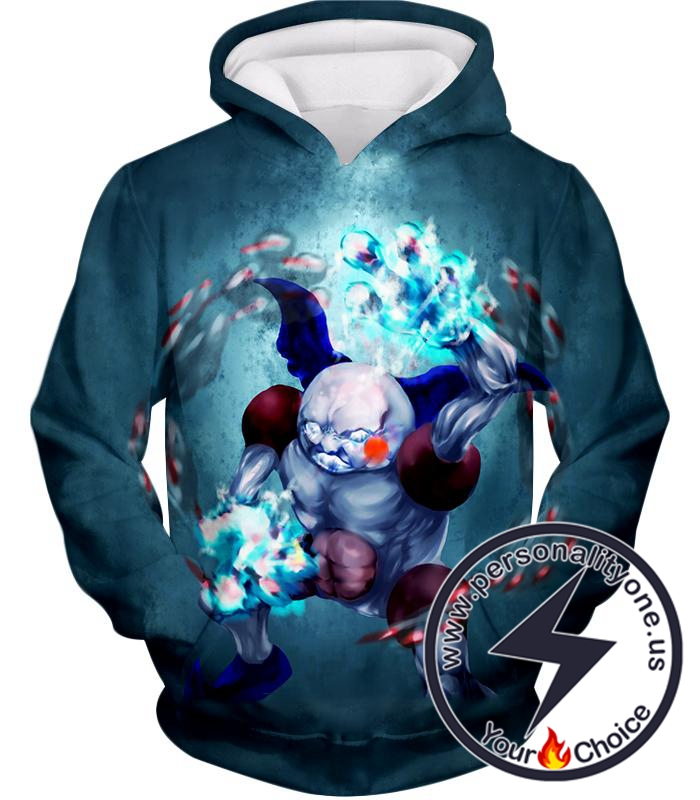 Pokemon Awesome Fairy Psychic Pokemon Mr Mime Action HD Graphic Anime Hoodie