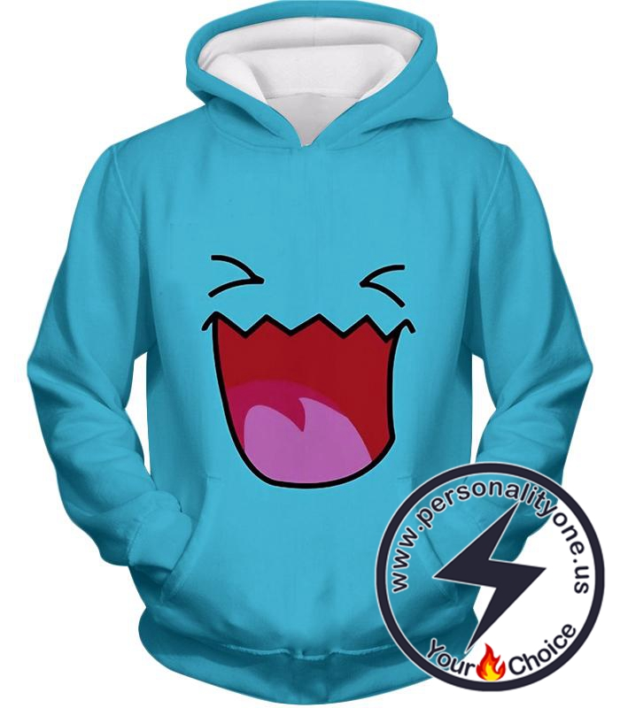 Pokemon Cute Pokemon Bobafett Featured Cool Blue Anime Hoodie
