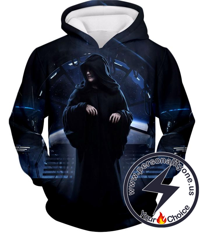 Star Wars Cunning Sith Lord Darth Sidious Awesome Graphic Hoodie