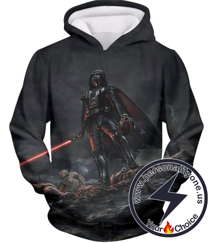 Star Wars Deadly Darth Vader Action Cool Graphic Hoodie