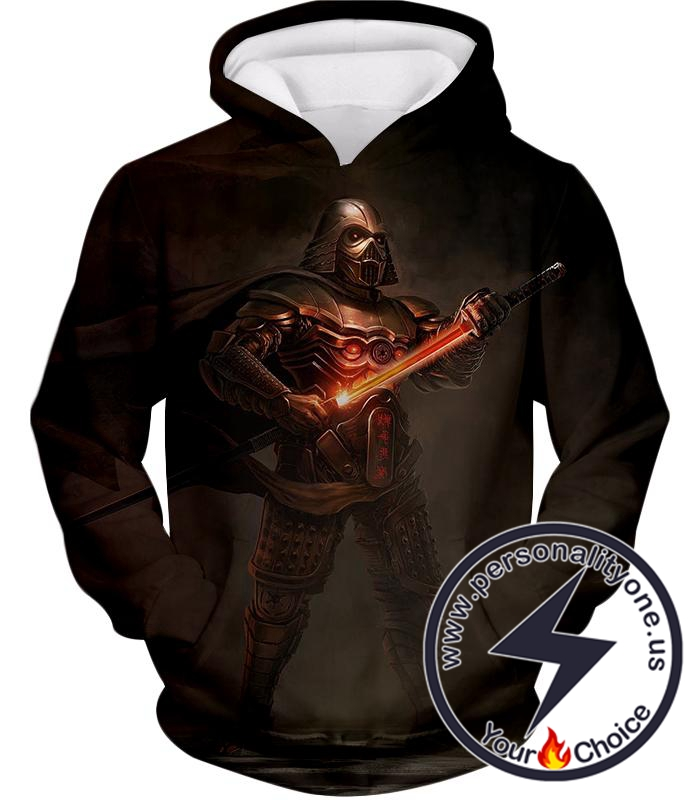 Star Wars Legendary Sith Lord Darth Vader Awesome Cosplay Graphic Hoodie