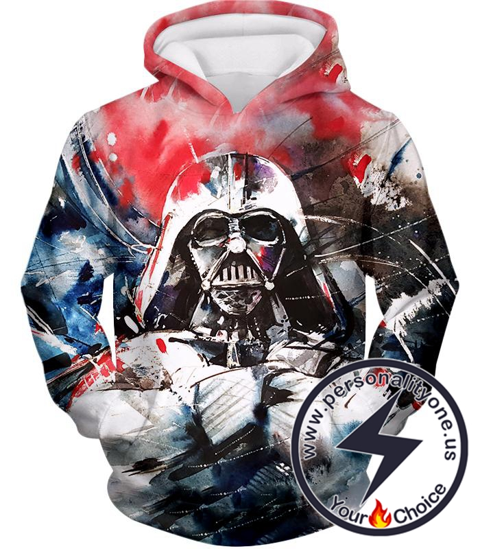 Star Wars Turned to Dark Side Sith Lord Darth Vader Crazy Graphic Hoodie