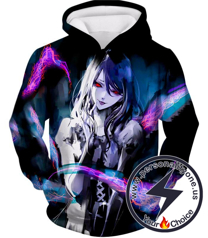 Tokyo Ghoul Amazing Anime Beauty Rize Kamishiro Super Cute Hoodie
