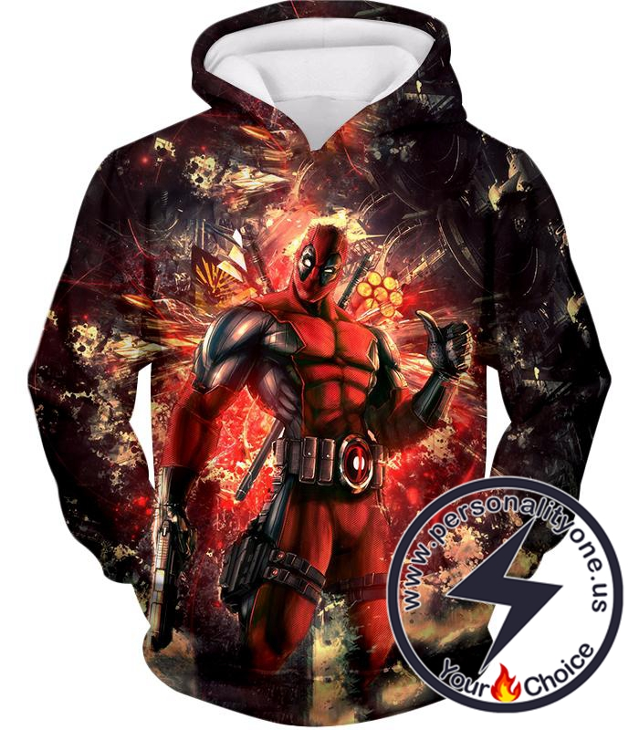 Ultimate Action Anti-Hero Deadpool Super Cool Hoodie