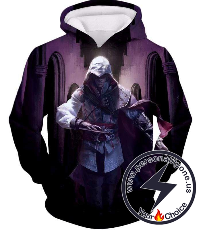 Ultimate Fighter Ezio Auuditore de Firenze Cool Action Promo Hoodie