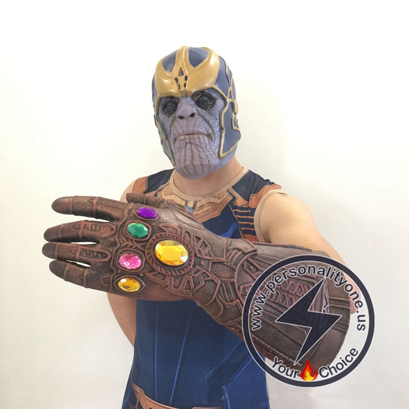 Thanos Mask And Infinity Gauntlet Adult
