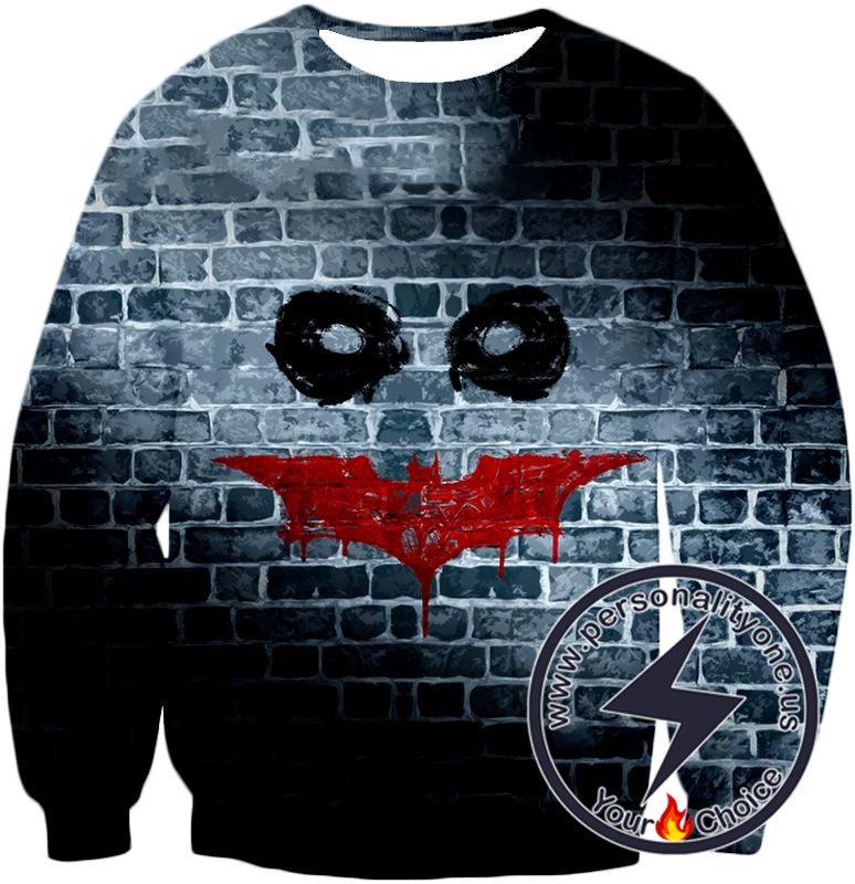 Amazing Batman x Joker Logo Promo Fan Art Sweatshirt