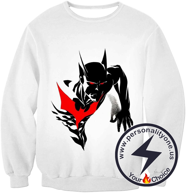 Amazing Evolution Batman Beyond Promo White Sweatshirt