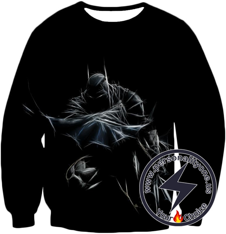 Amazing Fan Art Batman Cool Black Sweatshirt
