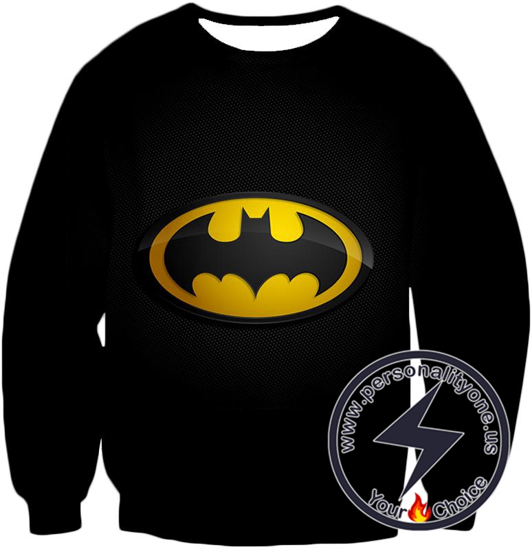 Amazing Promo Batman Logo Cool Black Sweatshirt