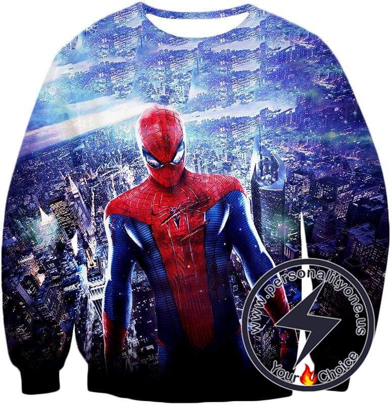 Amazing Spiderman Cool Movie Promo Sweatshirt