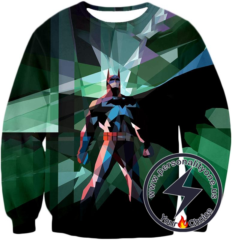 Fighting For Justice Ultimate Batman Cool Spotlight Finish Sweatshirt