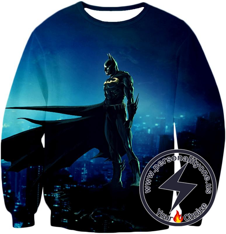 Protecting in the Dark Ultimate Hero Batman Awesome Graphic Sweatshirt