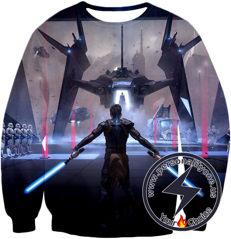 Star Wars Amazing Star Wars 3D Graphic Action Sweatshirt