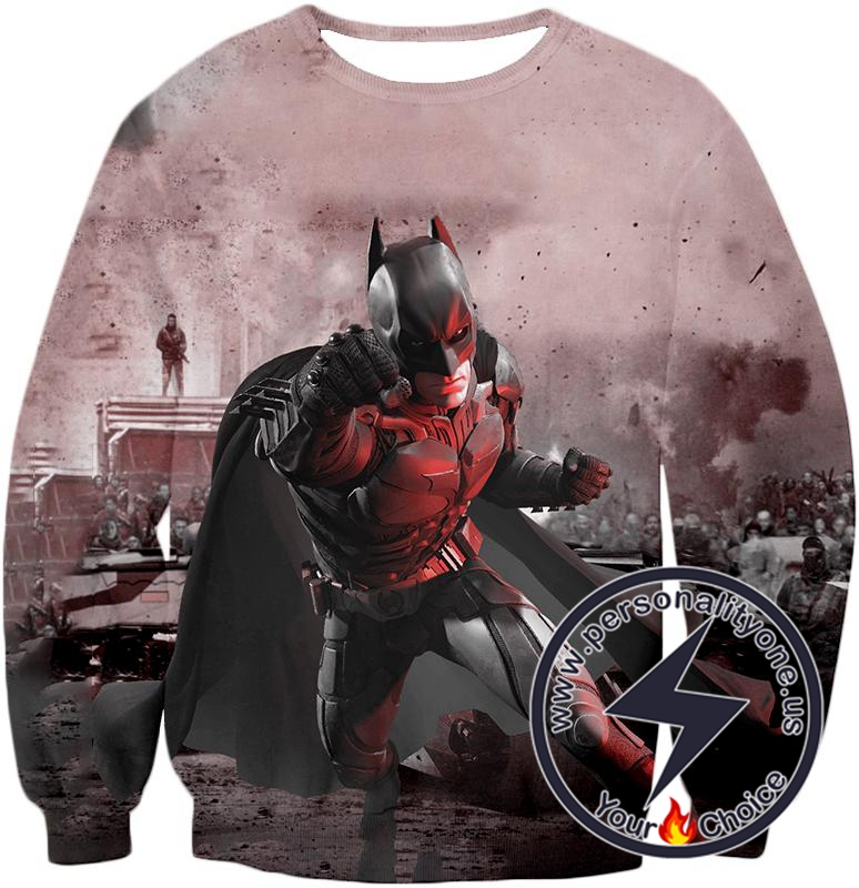 Ultimate 3D Graphic Batman Action Awesome Sweatshirt