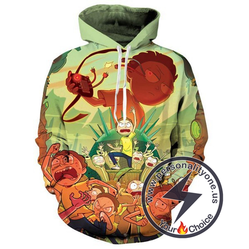 2020 New Fashion Cool Rick And Morty Hoodie
