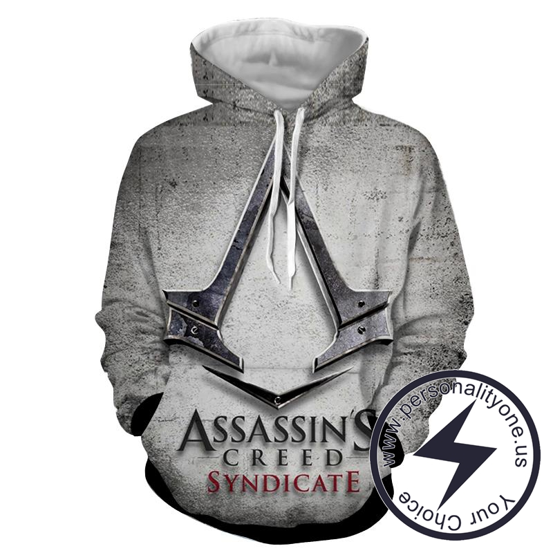 Assassin's Creed 3D - Assassin's Creed Sweat Shirt - Assassin's Creed Hoodies