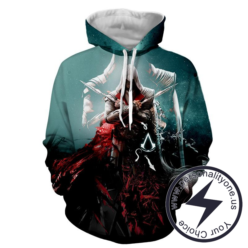 Assassin's Creed 3D - Ezio - Assassin's Creed Hoodies