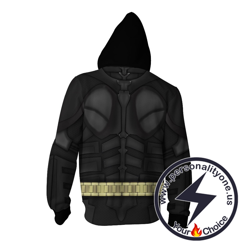 BATMAN - BATMAN 3D zip up Hoodie - BATMAN HOODIES