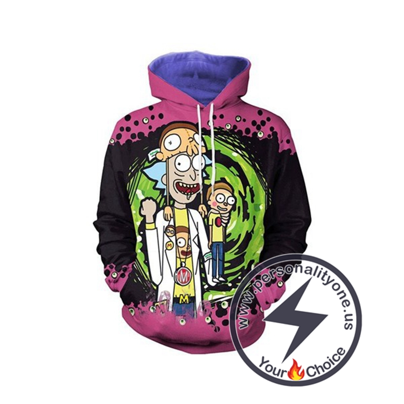 Best Choice Rick And Morty Unique 3D Hoodies