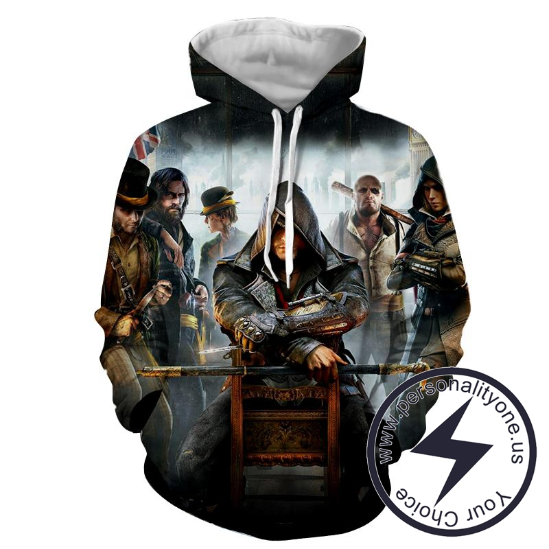 Jacob Frye - Assassin's Creed 3D - Assassin's Creed Hoodies