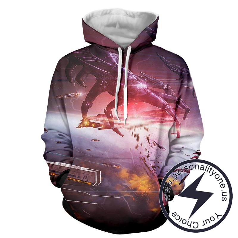 Mass Effect - Mass Effect Sweat Shirt - Mass Effect Hoodies