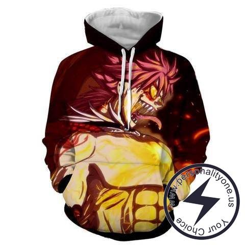 Natsu Dragneel - Fairytail Hoodies - Fairytail