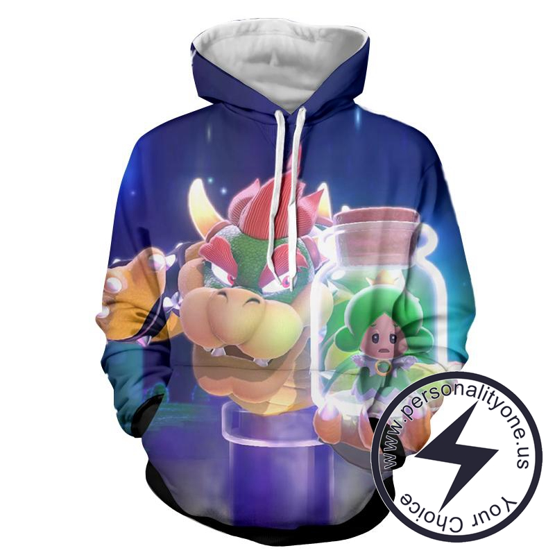 Super Mario - Super Mario Sweat Shirt - Super Mario Hoodies