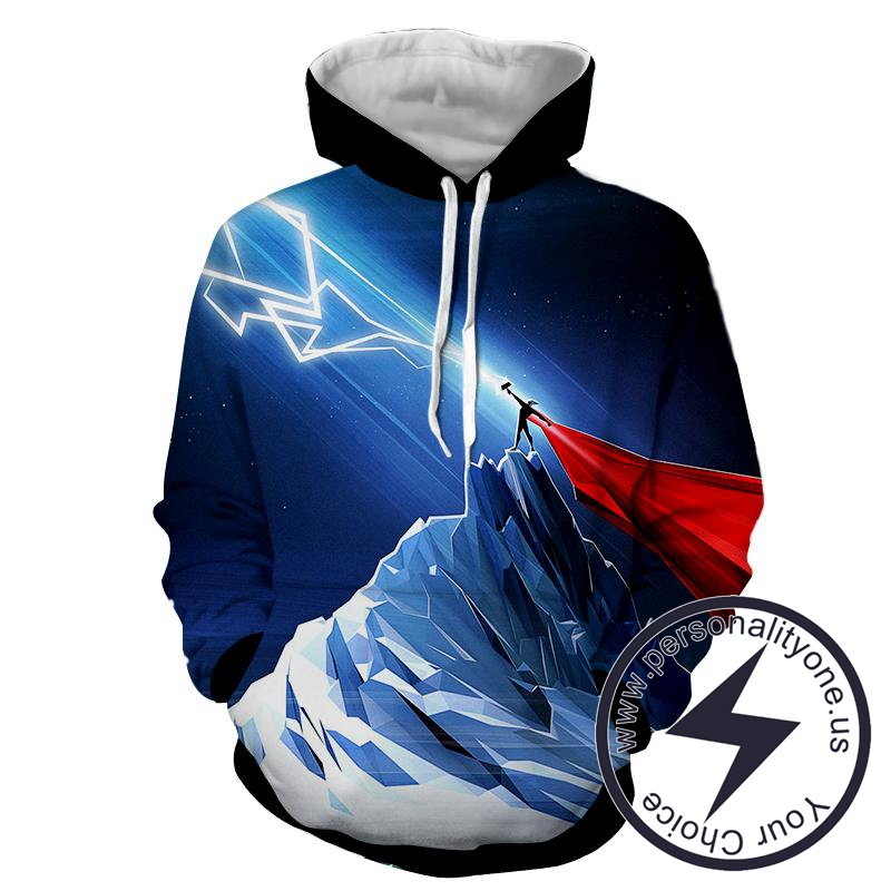 Thor Electric Power - Thor 3D - Hoodies