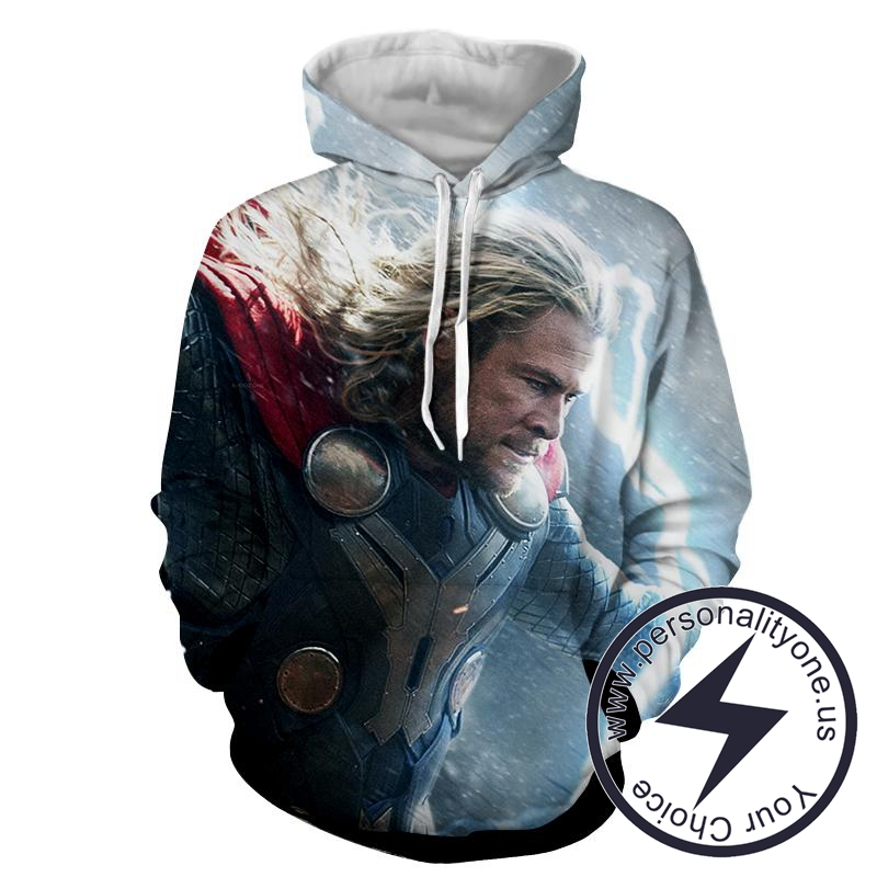 Thor Power Defence - Thor 3D - Hoodies
