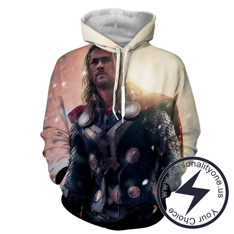 Thor Victory - Thor 3D - Hoodies