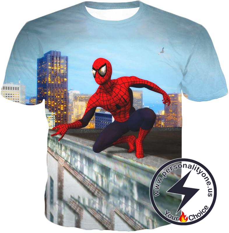 Amazing Spiderman Gameplay Action T-Shirt