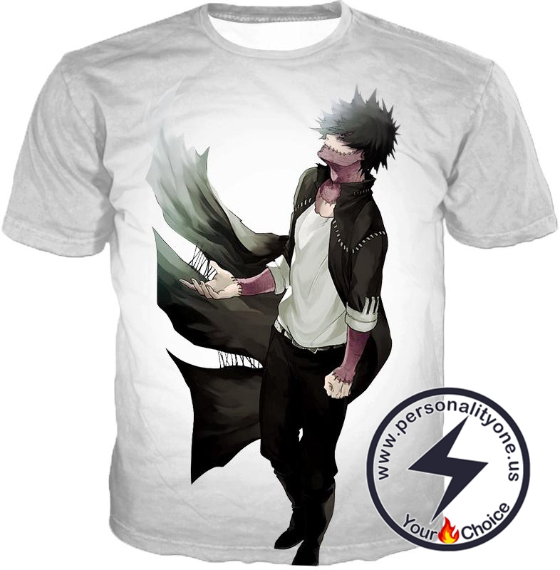 My Hero Academia White My Hero Academia Villain Dabi T-Shirt